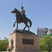 Памятник Оренбургскому казачеству. Оренбург, Оренбург