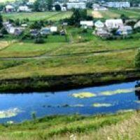 река Неручь, панорама, Залегощь