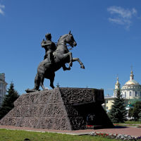 Памятник А.П.Ермолову. Орёл, Орел