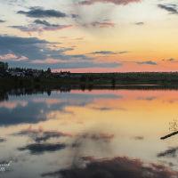 Новый пруд на закате, Белинский