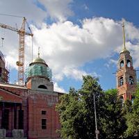 Строительство собора. Пенза, Пенза