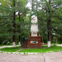 Памятник погибшим в гражданской войне 1918 г., Кизел