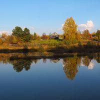 Кизеловский пруд в Общем Руднике., Кизел