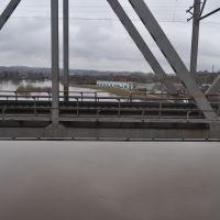 Вид с ж/д моста через Ирень, Кунгур