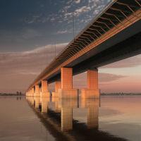 Красавинский мост, Пермь