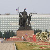 Памятник  труженикам  тыла, Пермь