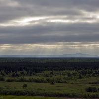 Вид на гору Полюд., Чердынь