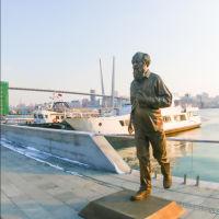 Владивосток, памятник Солженицыну, Владивосток