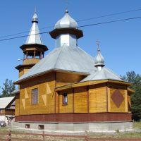 Храм Тихвинской иконы Божией Матери (ул. Аэродромная), Идрица