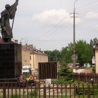 Памятник Воину Освободителю. Тругольник, Идрица