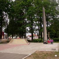 Площадь Знамени Победы, Идрица