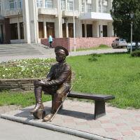 """Скульптура """"Казак"""" в центре города, Новочеркасск"""