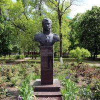 Бюст В.В. Орлова-Денисова в Александровском парке, Новочеркасск