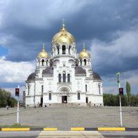 Вознесенский войсковой собор со стороны Платовского проспекта, Новочеркасск