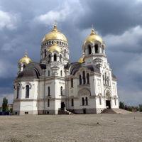 Вознесенский войсковой собор со стороны памятника Ермаку, Новочеркасск