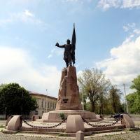 Памятник Ермаку Тимофеевичу на площади Ермака, Новочеркасск