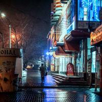 Новошахтинск ночью, Новошахтинск