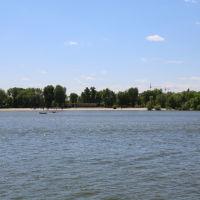 Вид на Левбердон с набережной, Ростов-на-Дону