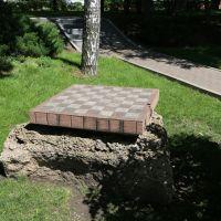 Памятник шахматной доске на набережной Дона, Ростов-на-Дону