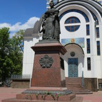 Памятник императрице Елизавете Петровне в Покровском сквере, Ростов-на-Дону