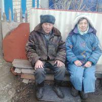 Большая Черниговка   супруги  Жамбатыровы Баир и Дамет, Большая Черниговка