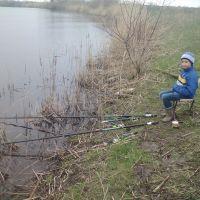 Большая Черниговка   На первой весенней рыбалке 2016г., Большая Черниговка