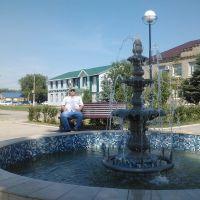 Большая Черниговка  Фонтан на центральной площади, Большая Черниговка