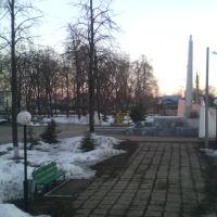 Кинель парк, зима, Кинель