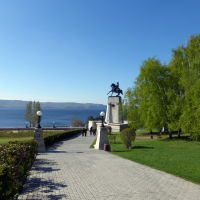 памятник основателю города  Татищеву Василию Никитичу, Тольятти