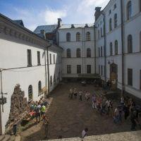 Внутренний дворик Выборгского замка, Выборг