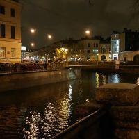 канал Грибоедова. Банковский мост, Санкт-Петербург