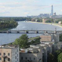 Панорама с Ушаковская наб.,3 корп.2 (вид приближен), Санкт-Петербург