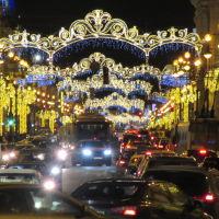 Новогодний Невский проспект, Санкт-Петербург