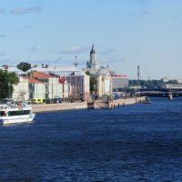 Вид с Благовещенского моста, Санкт-Петербург