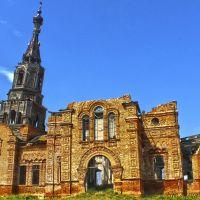 Церковь во имя Казанской иконы Божией Матери, год постройки 1857 год, Красный Кут