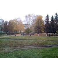 Возле фонтана, осень 2015г, Ртищево