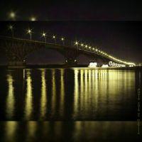 Мост Саратов-Энгельс, Саратов