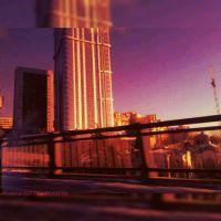 Вид с моста на жилой еомплекс Елена, Саратов
