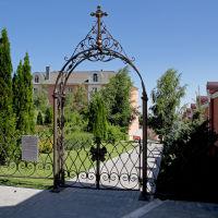 В Алексиевском монастыре, Саратов
