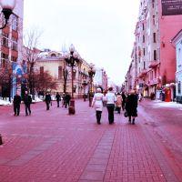 """Верхоянск: февраль """"Розовая улица"""", Верхоянск"""