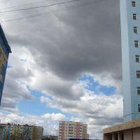 Надым, ЯНАО. Низкие облака севера, Надым