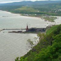 Александровск-Сахалинский. Порт, залив., Александровск-Сахалинский
