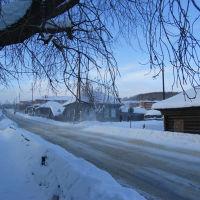 Школьный переулок перед магазином Норд, Арти