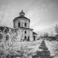 заброшеннаф церковь, Верхотурье