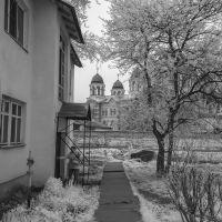 вид на монастырь, Верхотурье