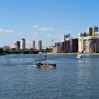 Вид с пруда, Екатеринбург