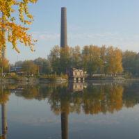 Осенний пруд, Кушва