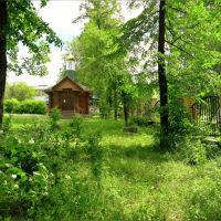 Часовня на месте снесённого в советское время храма, Кушва