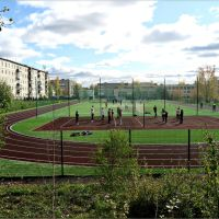 Спортивная площадка школы N1, Кушва