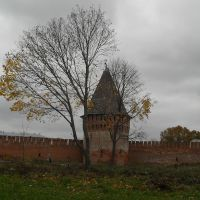 Башня крепостной стены., Смоленск